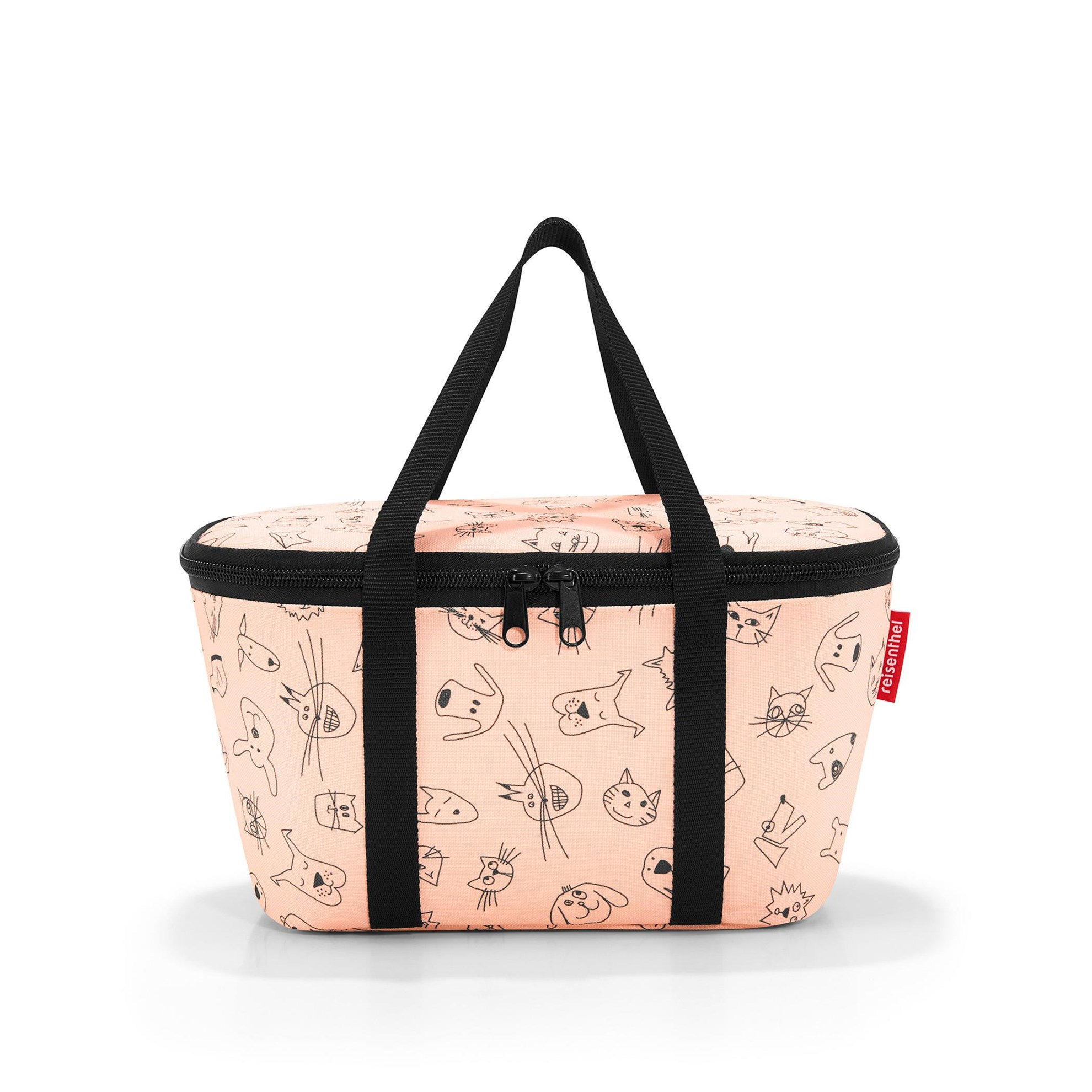 Termotaška COOLERBAG XS kids cats and dogs rose_0
