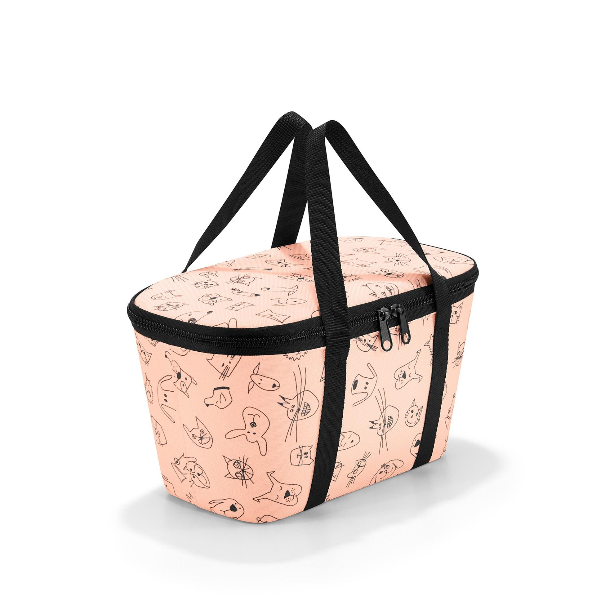 Termotaška COOLERBAG XS kids cats and dogs rose_1