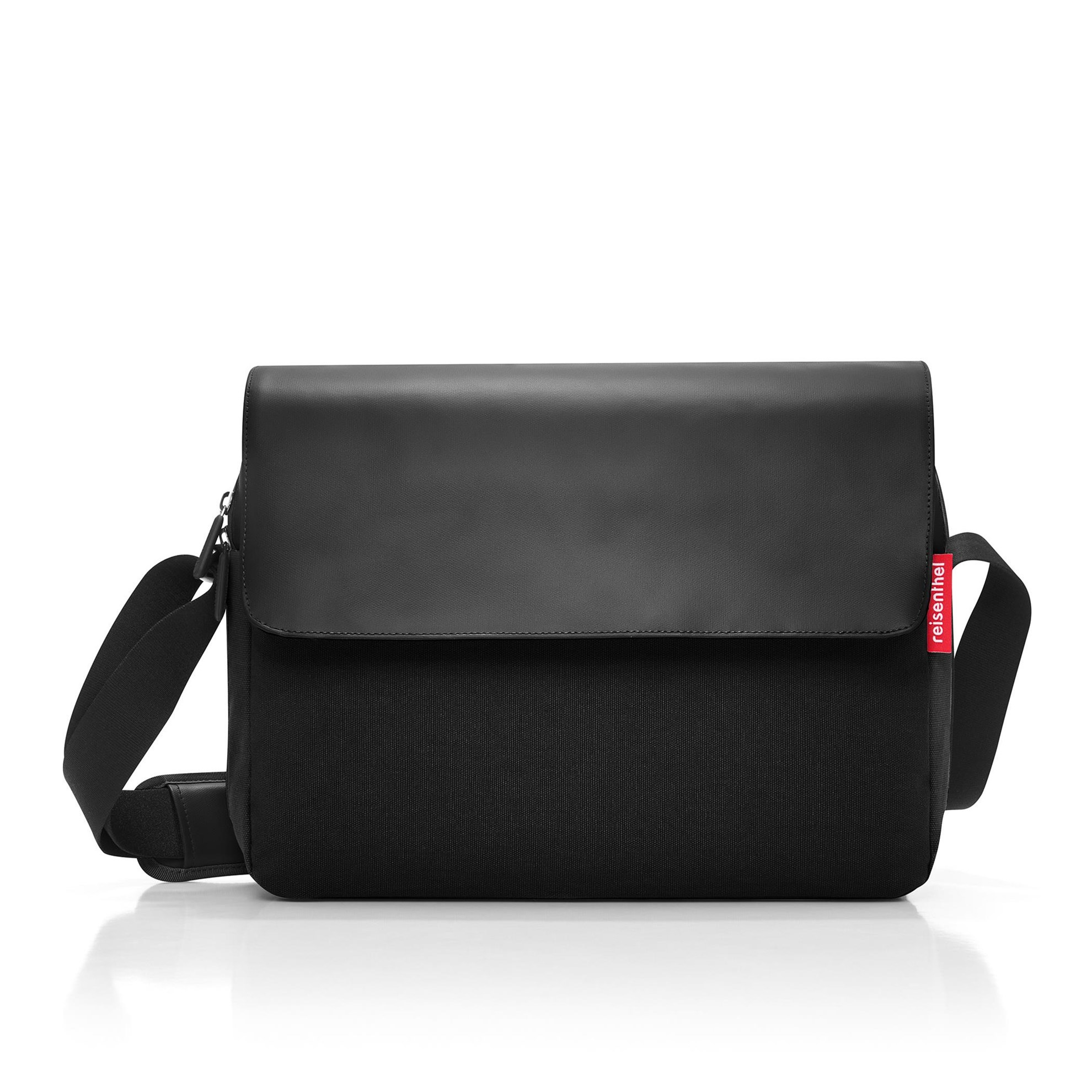 Unisex aktovka COURIERBAG 2 canvas black_0