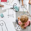 Obrázek z Dětská taštička přes rameno Minibag kids cats and dog mint