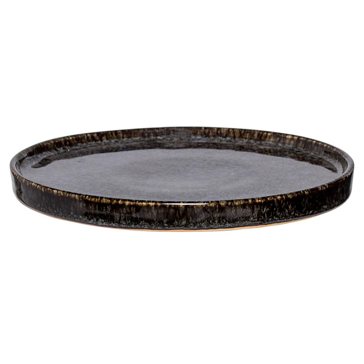 Kameninový talíř Noir 18 cm_0