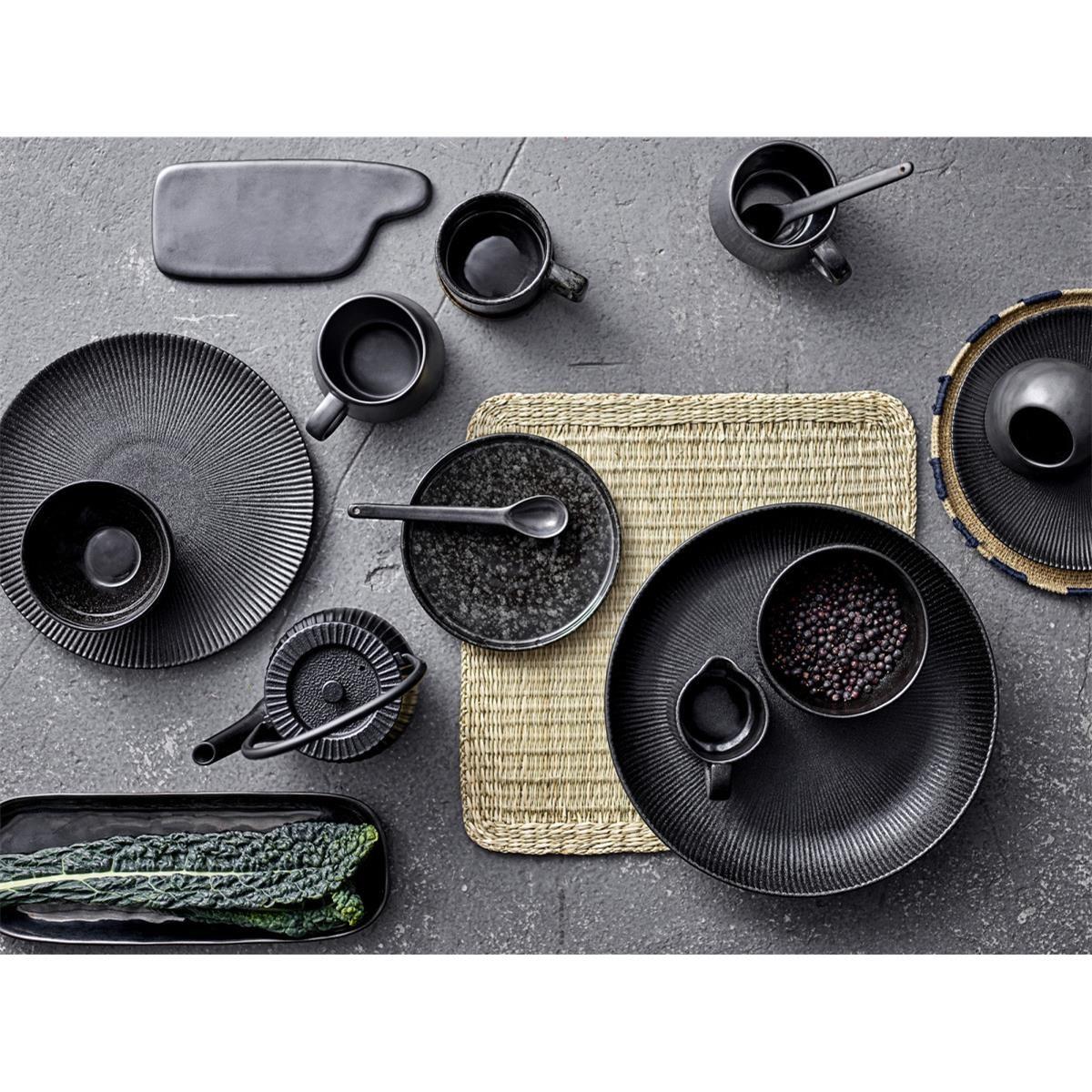 Kameninový talíř Noir 18 cm_1
