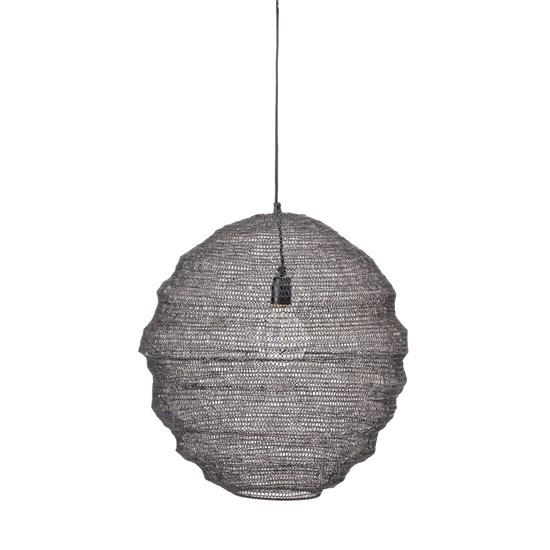 Černé stropní svítidlo 50 cm_0