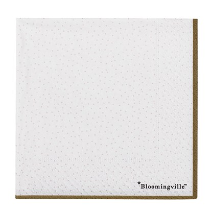 Menší papírové ubrousky s puntíky bal. 20 ks_0