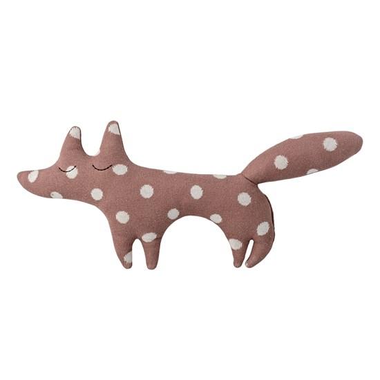 Pletený bavlněný polštář Fox_0