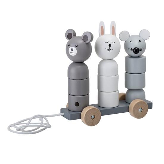 Dřevěná skládací hračka na kolečkách_1