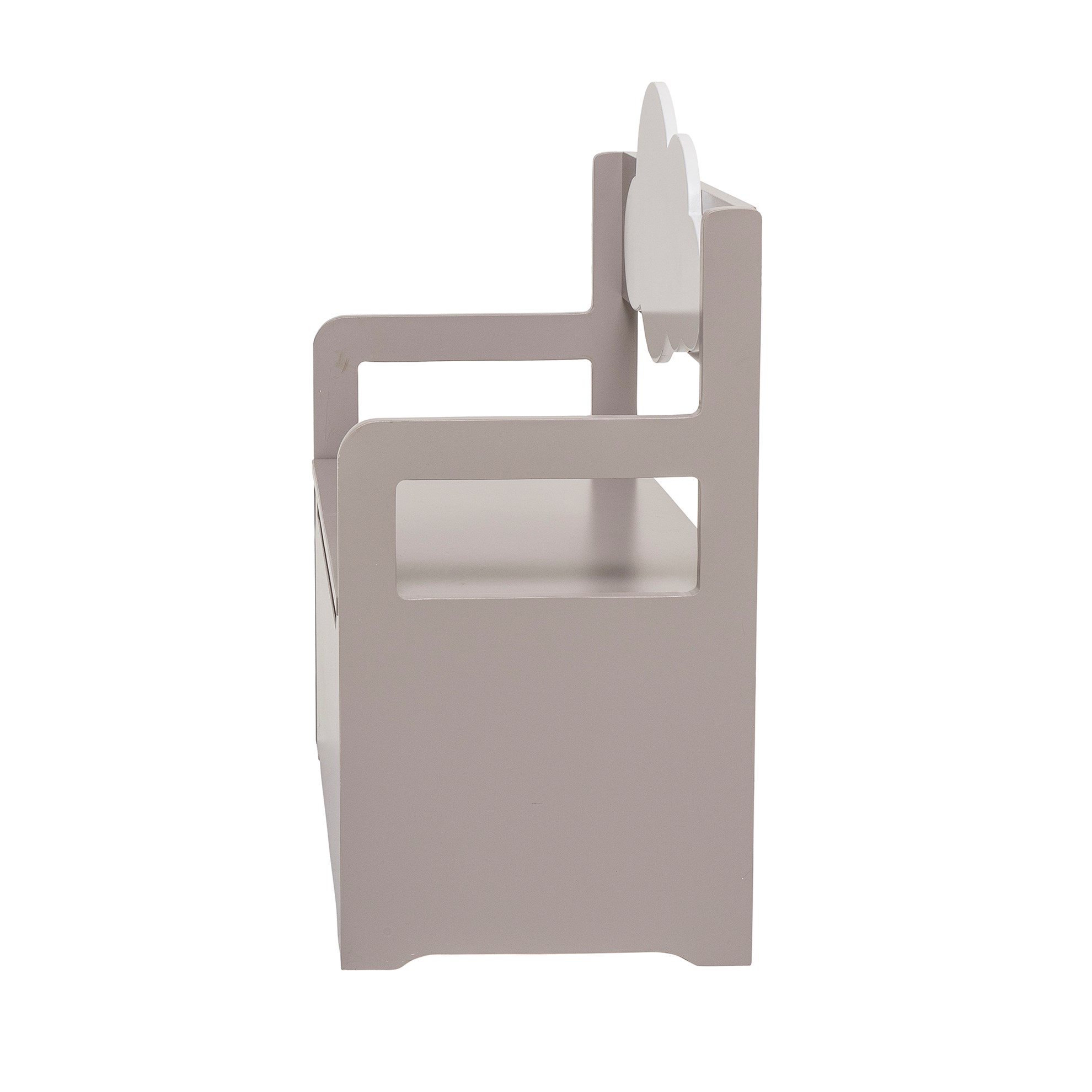 Lavice s úložným prostorem s motivem obláčku_2