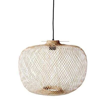 Stropní osvětlení 42 cm z bambusových vláken_1