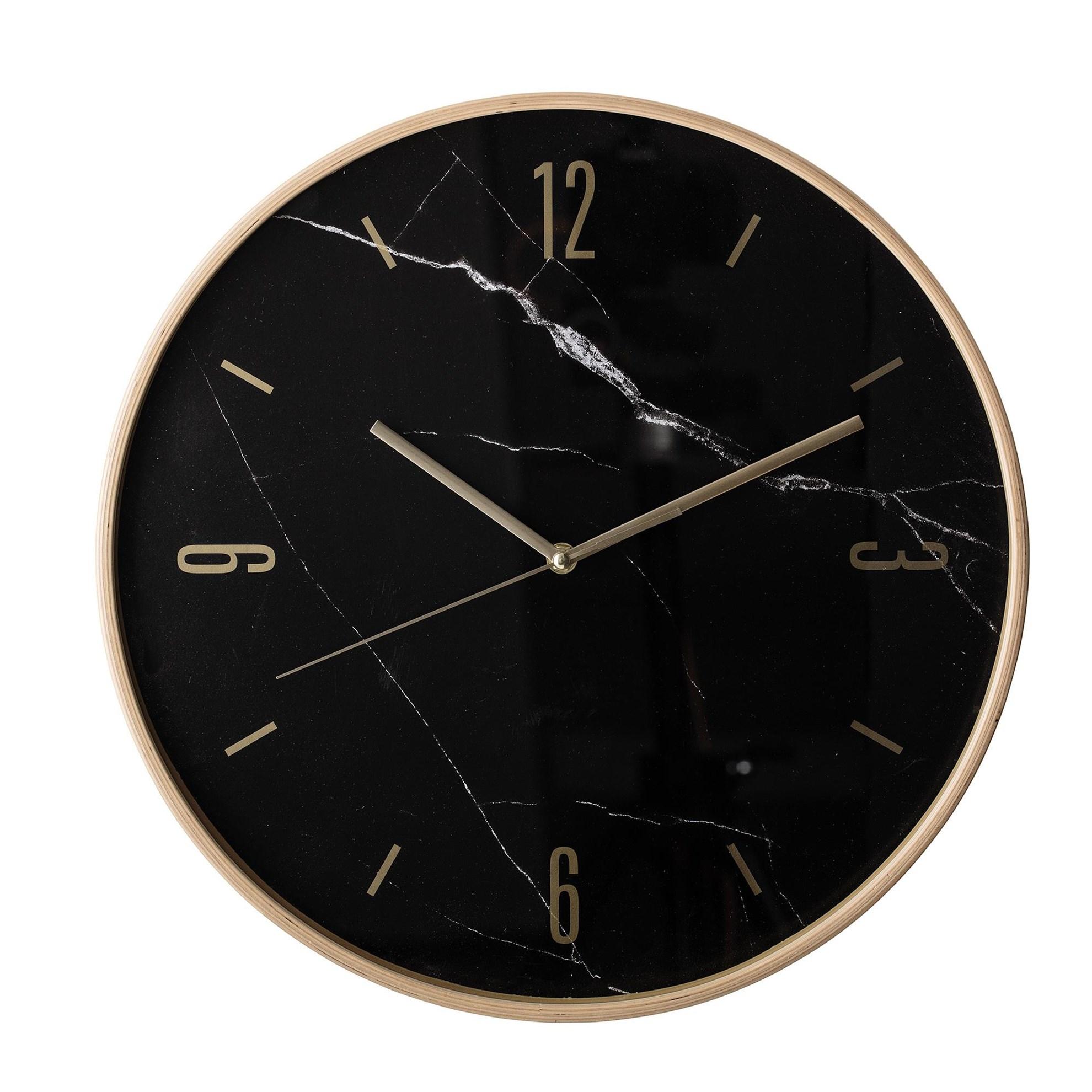 Nástěnné hodiny s mramorovým dekorem_2