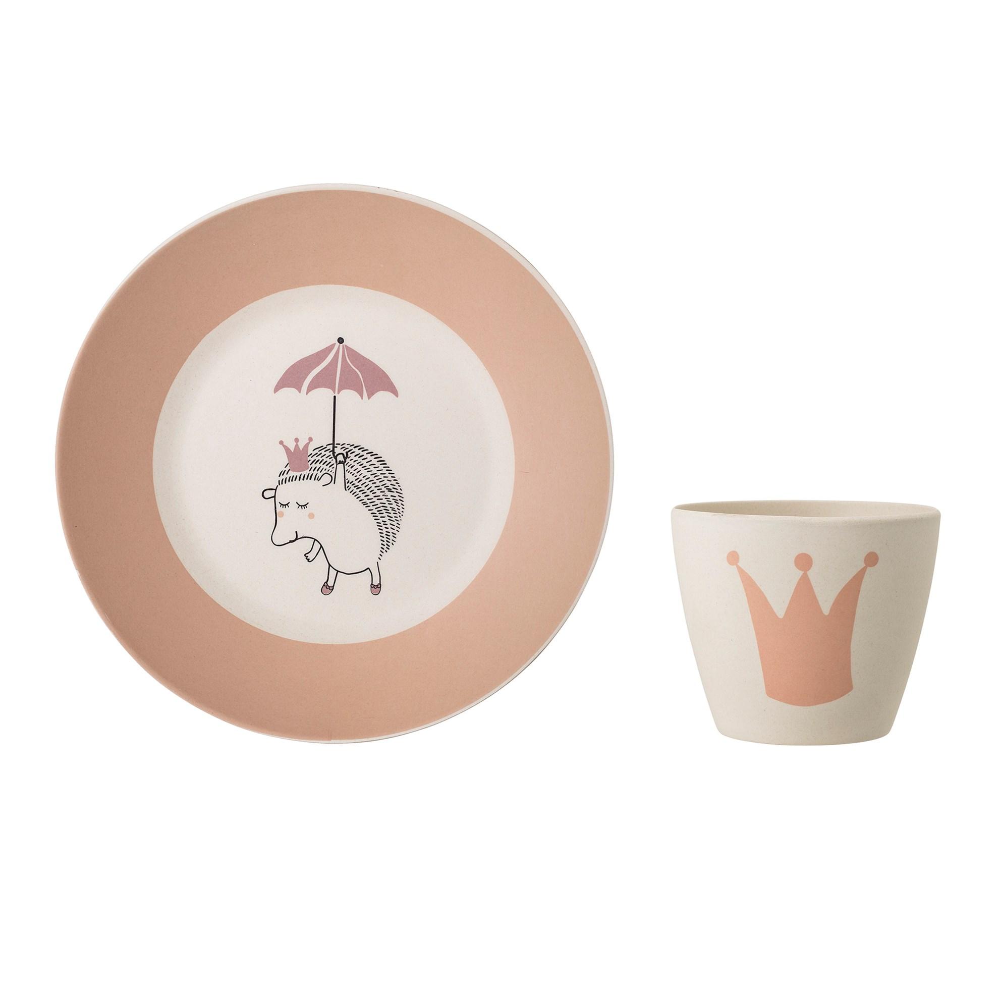 Bambusový jídelní set 2 kusy Princess_1