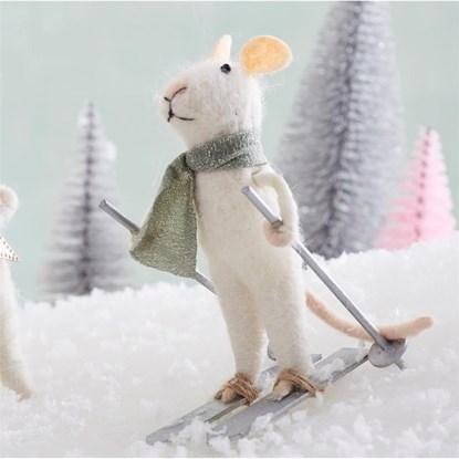 Ozdoba Skiing Mouse_2