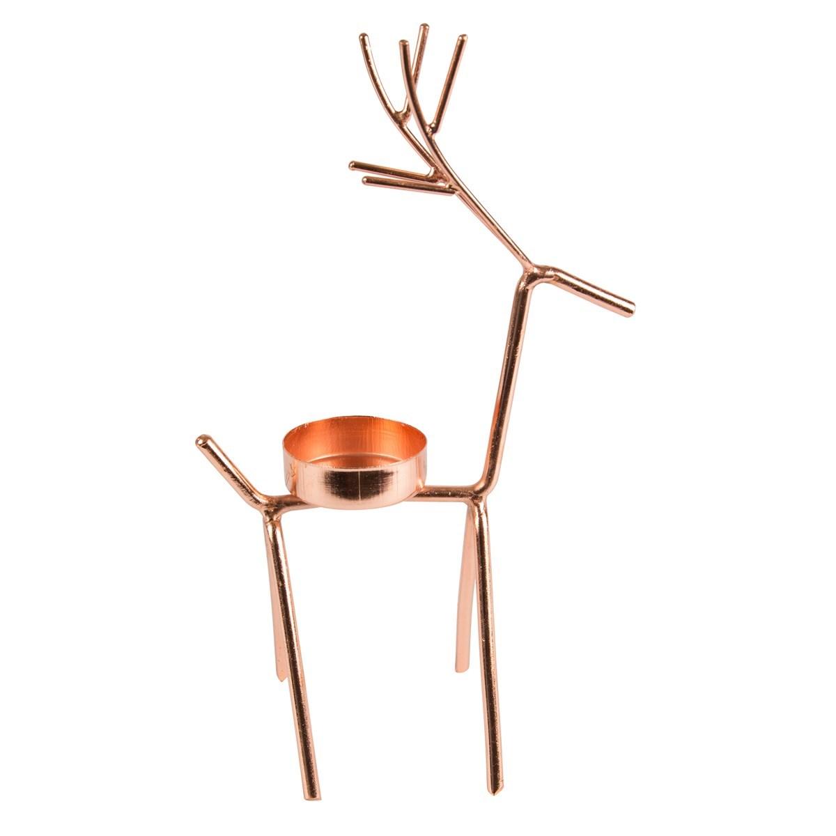 Svícen pro čaj. svíčku Reindeer_0