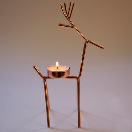 Svícen pro čaj. svíčku Reindeer_2