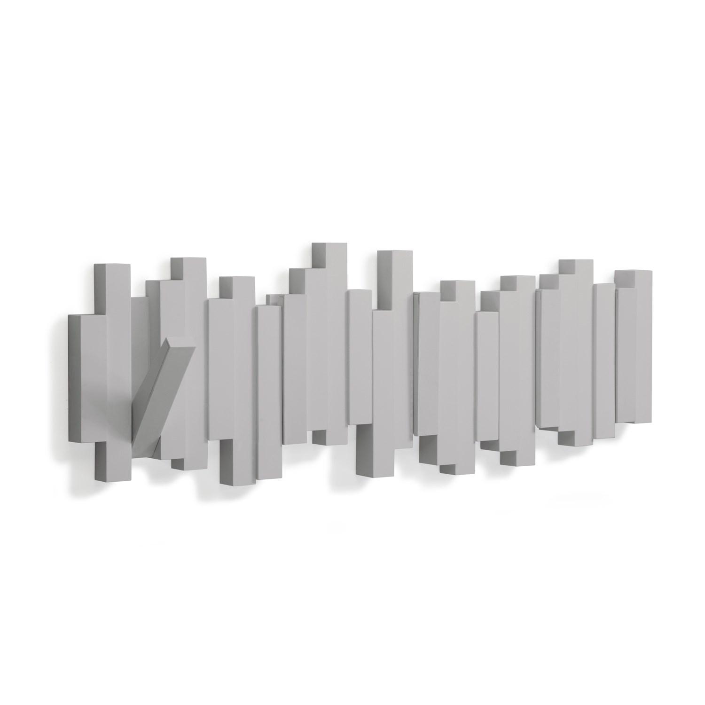 Věšák sklápěcí STICKS šedý_1