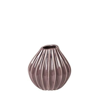 Váza WIDE šedofialová 15 cm_0