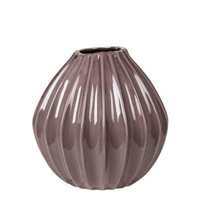 Váza WIDE šedofialová 25 cm_0