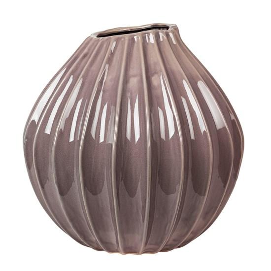 Váza WIDE šedofialová 40 cm_0