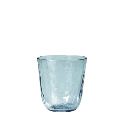 Sklenice HAMMERED 250 ml modrá_0