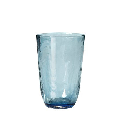 Sklenice HAMMERED 400 ml modrá_0