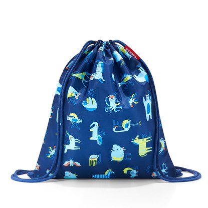 Sáček na záda Mysac kids abc friends blue_1