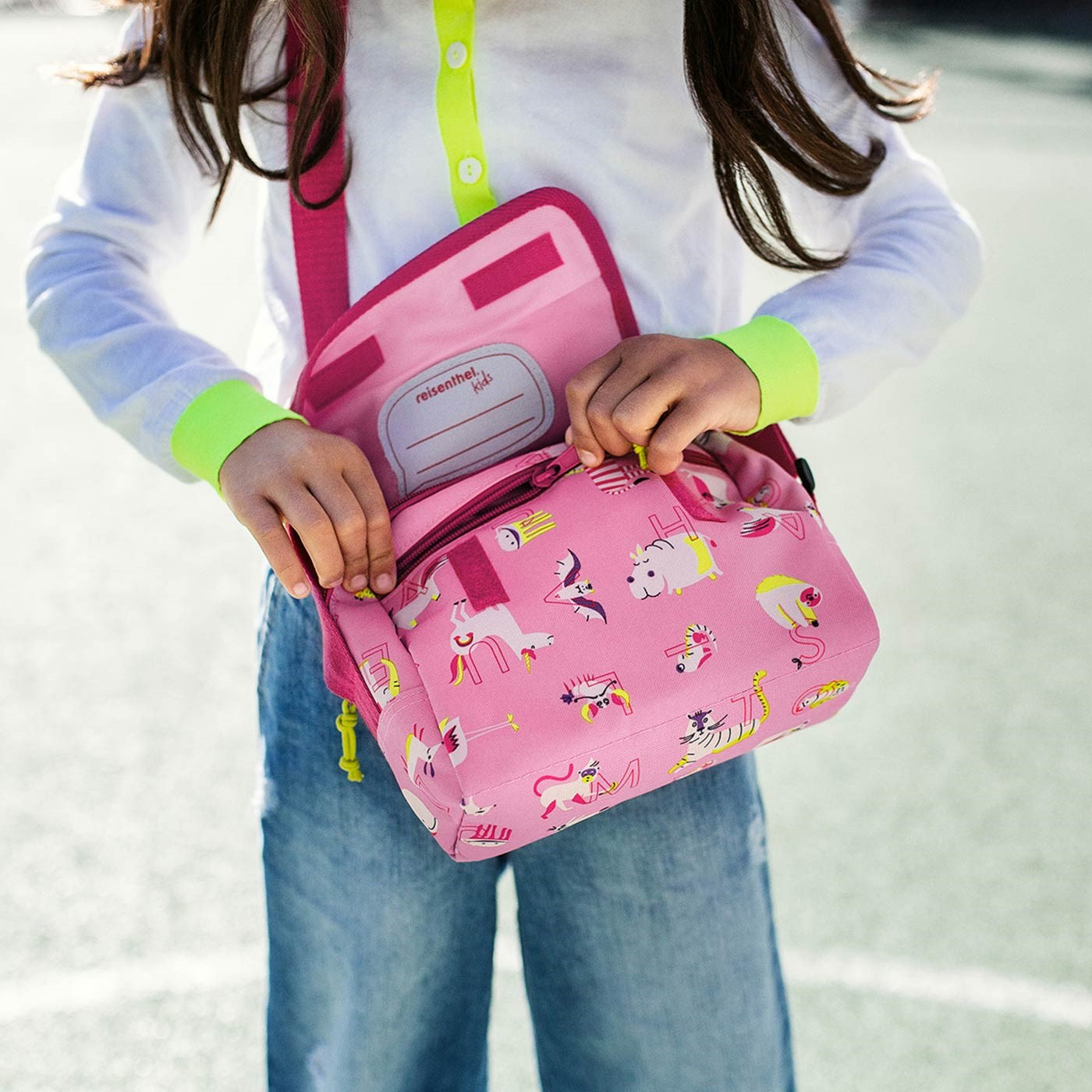 Taška everydaybag kids abc friends pink_0