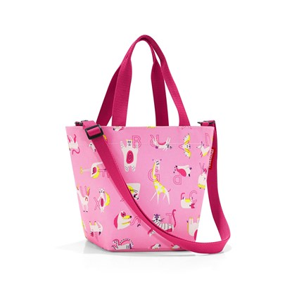 Taška shopper XS kids abc friends pink_0