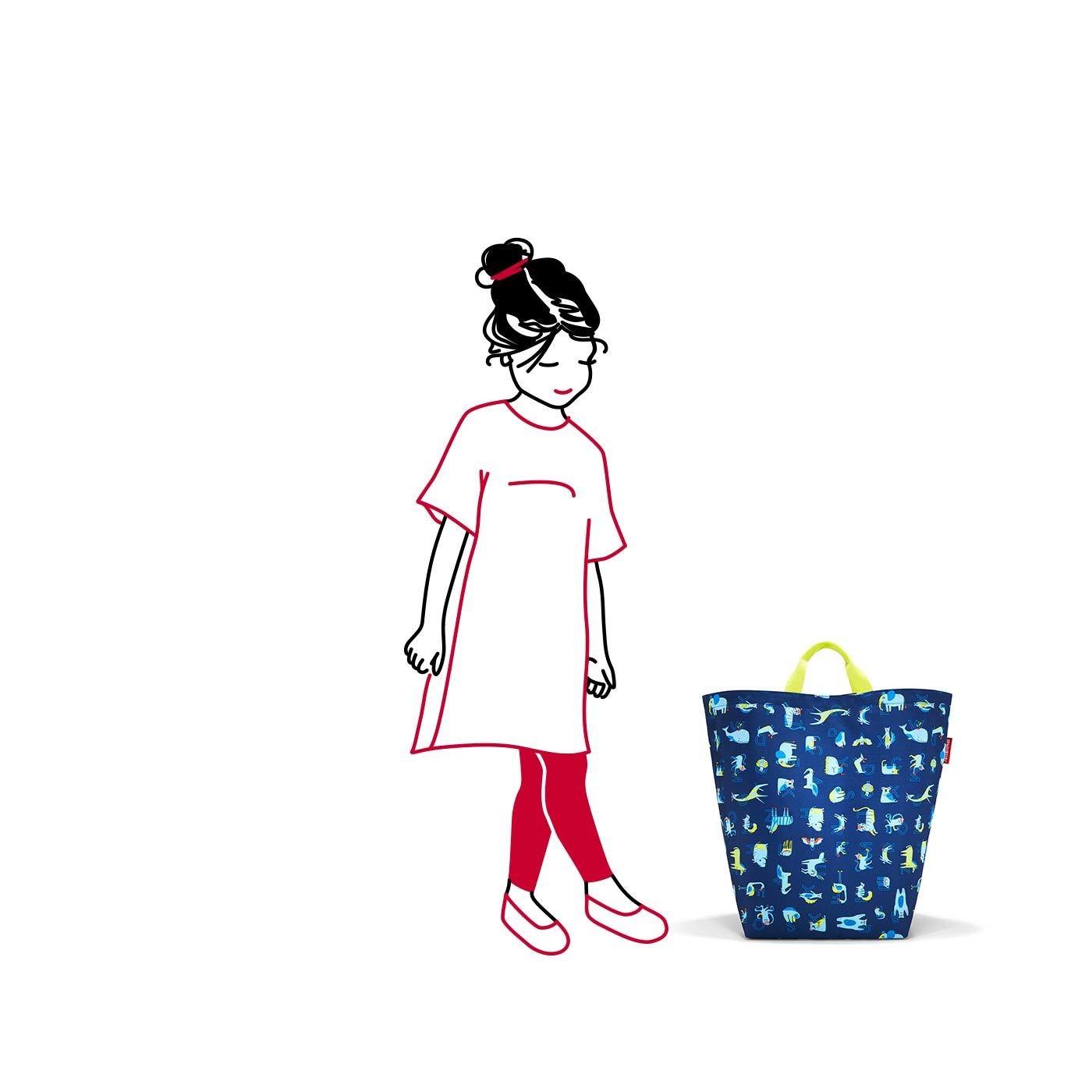 Taška na hračky Storagesac kids abc friends blue_0