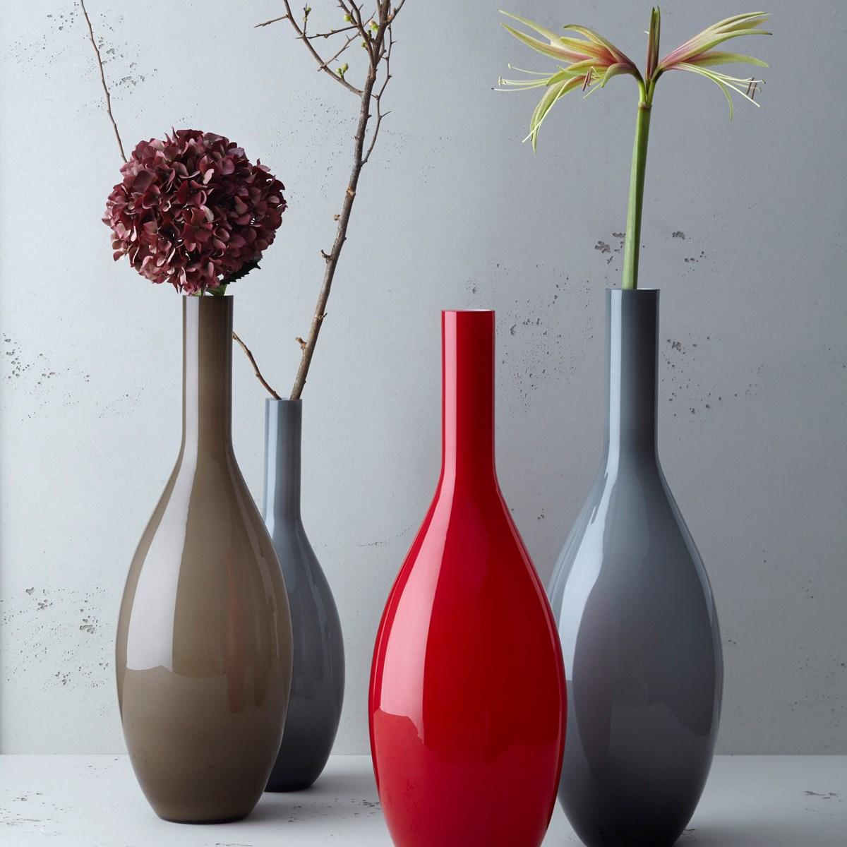Váza BEAUTY 65 cm šedá_0
