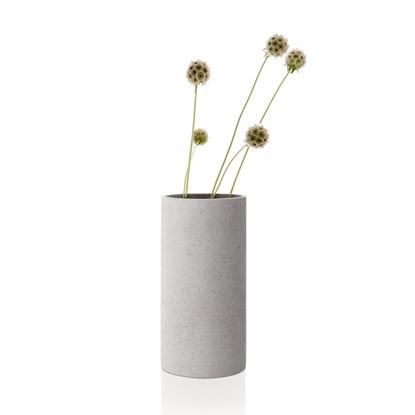 Váza COLUNA 24 cm světle šedá_1