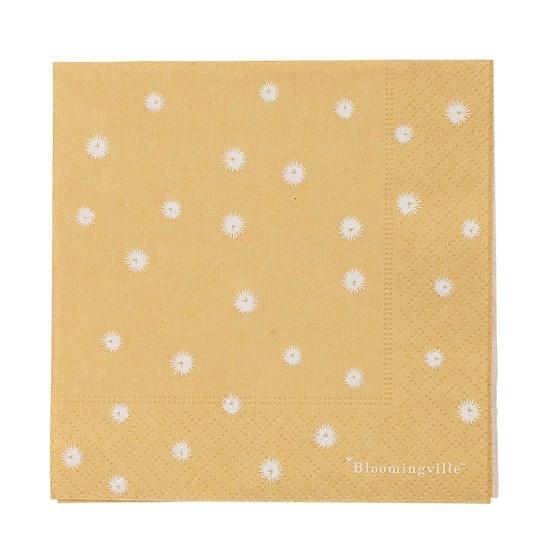 Menší papírové ubrousky bal. 20 ks_0