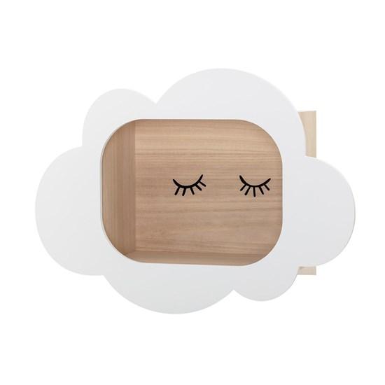 Dřevěná polička Cloud 50x37 cm_3
