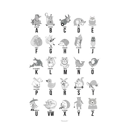 Plakát s abecedou v angličtině_1