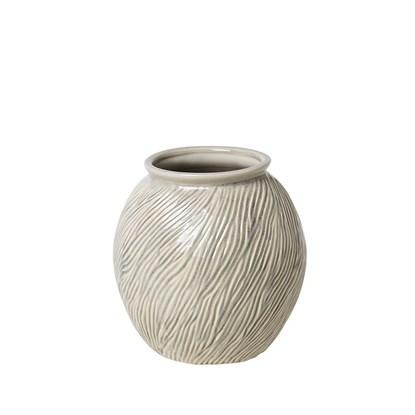 Váza SANDY 21 cm slonová kost_0