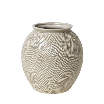 Váza SANDY 31 cm slonová kost_0