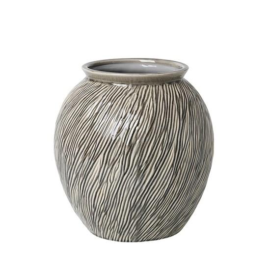 Váza SANDY 31 cm šedá_0