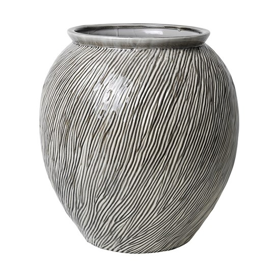 Váza SANDY 42,5 cm šedá_0