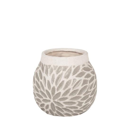 Váza ARNSTEIN 18 cm světle šedá_0
