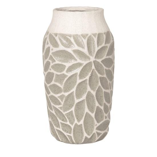Váza ARNSTEIN 30,5 cm světle šedá_0