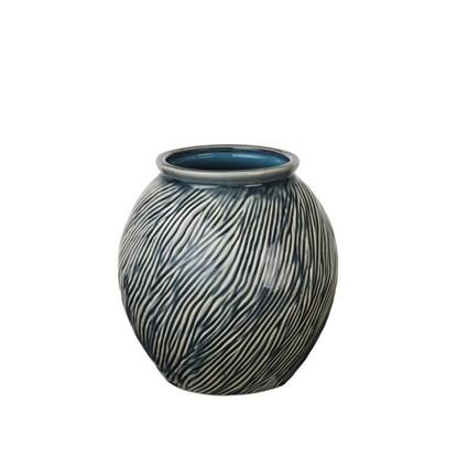 Váza SANDY 21 cm modrá_0