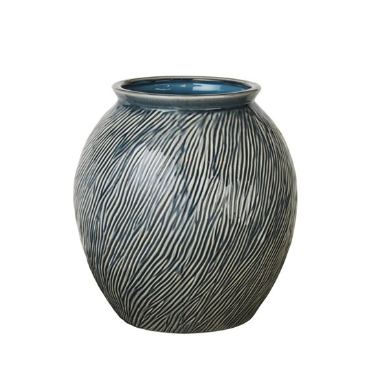 Váza SANDY 31 cm modrá_0