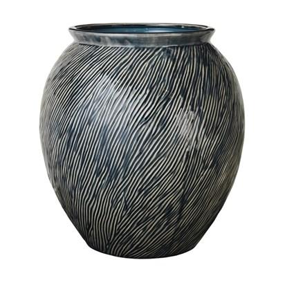Váza SANDY 42,5 cm modrá_0