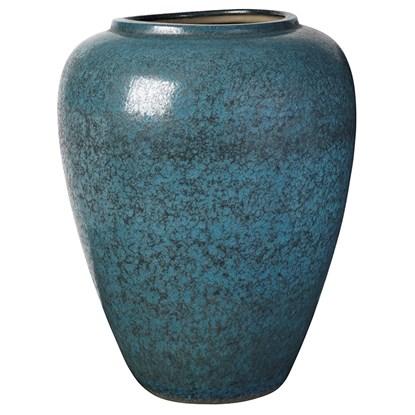 Váza na zem CURVE 60 cm modrá_0