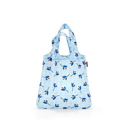 Skládací taška SHOPPER leaves blue_0
