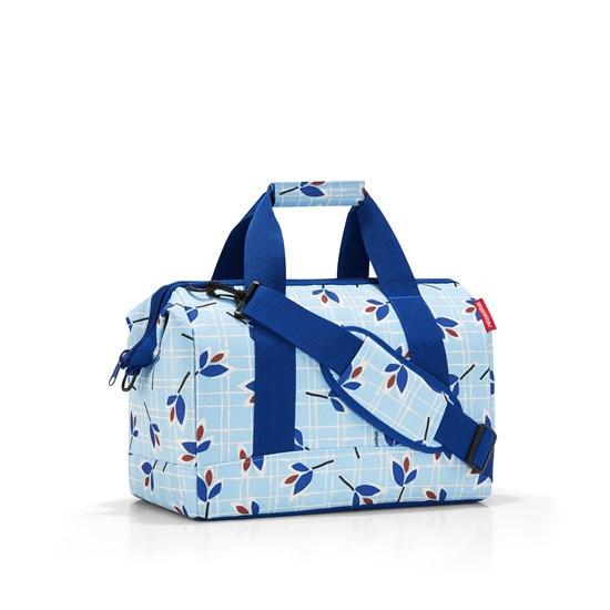 Cestovní taška ALLROUNDER M leaves blue_0