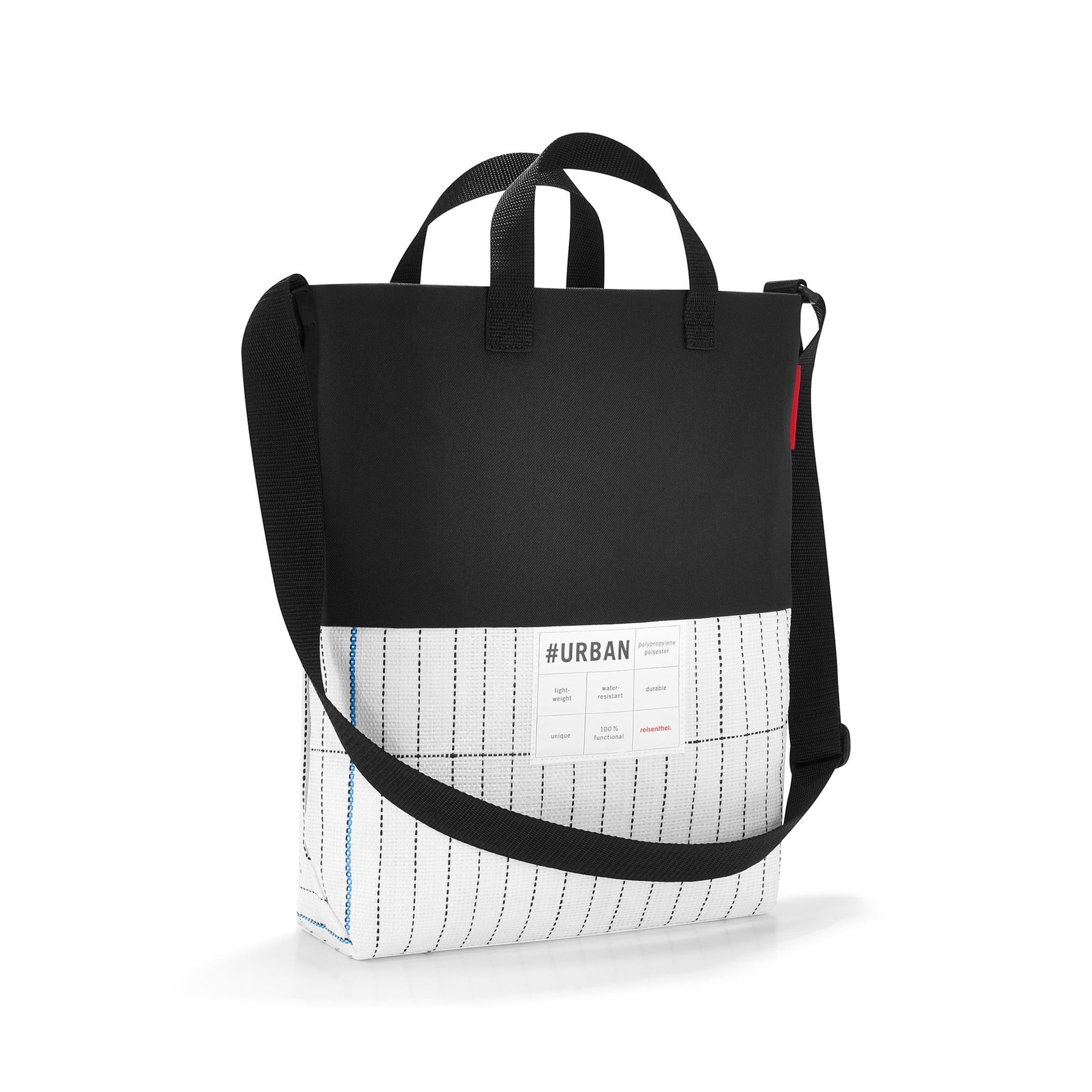 #urban shoulderbag london black & white_0