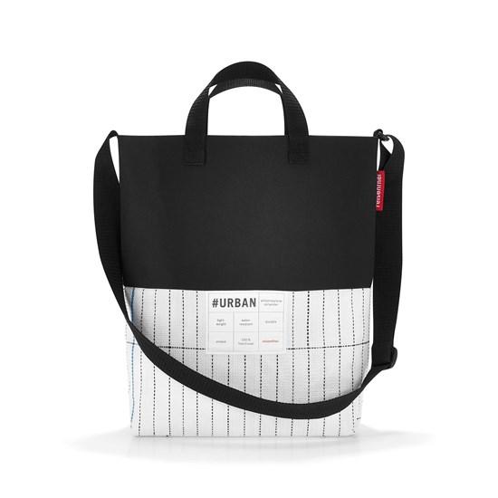 #urban shoulderbag london black & white_1