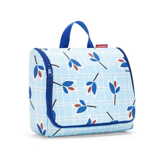 Kosmetická taška TOILETBAG XL leaves blue_0