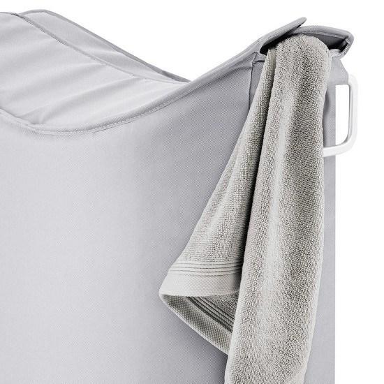 Obrázek z Koš na prádlo FRISCO šedý