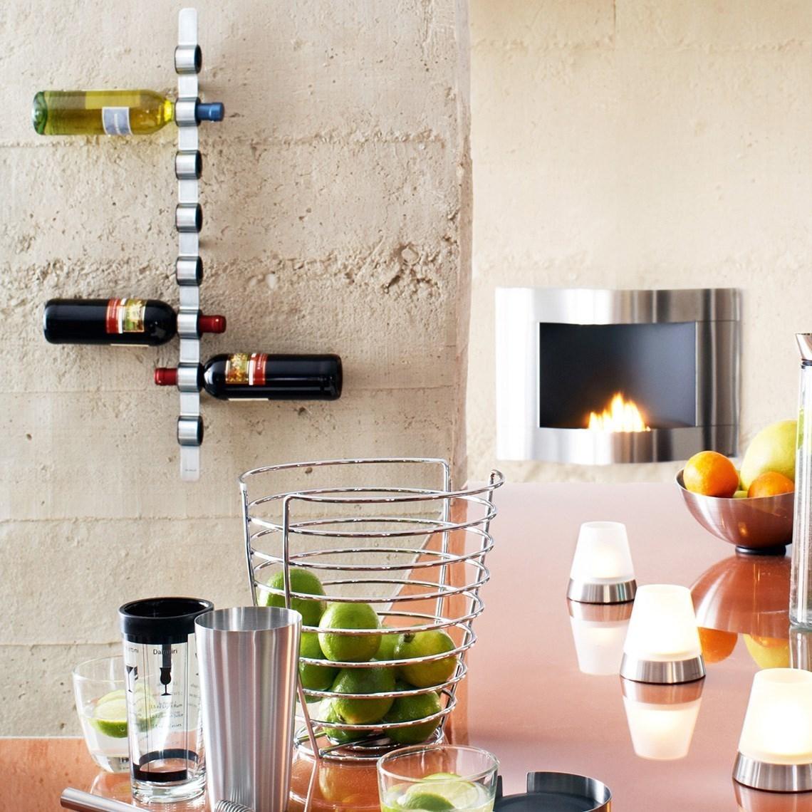 Obrázek z Nástěnný držák na víno CIOSO