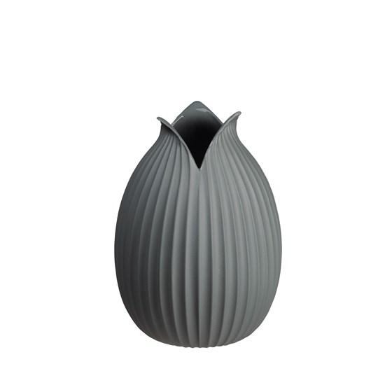Váza YOKO 22 cm šedá_0